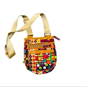 Lily Bloom crossbody bag multi colored